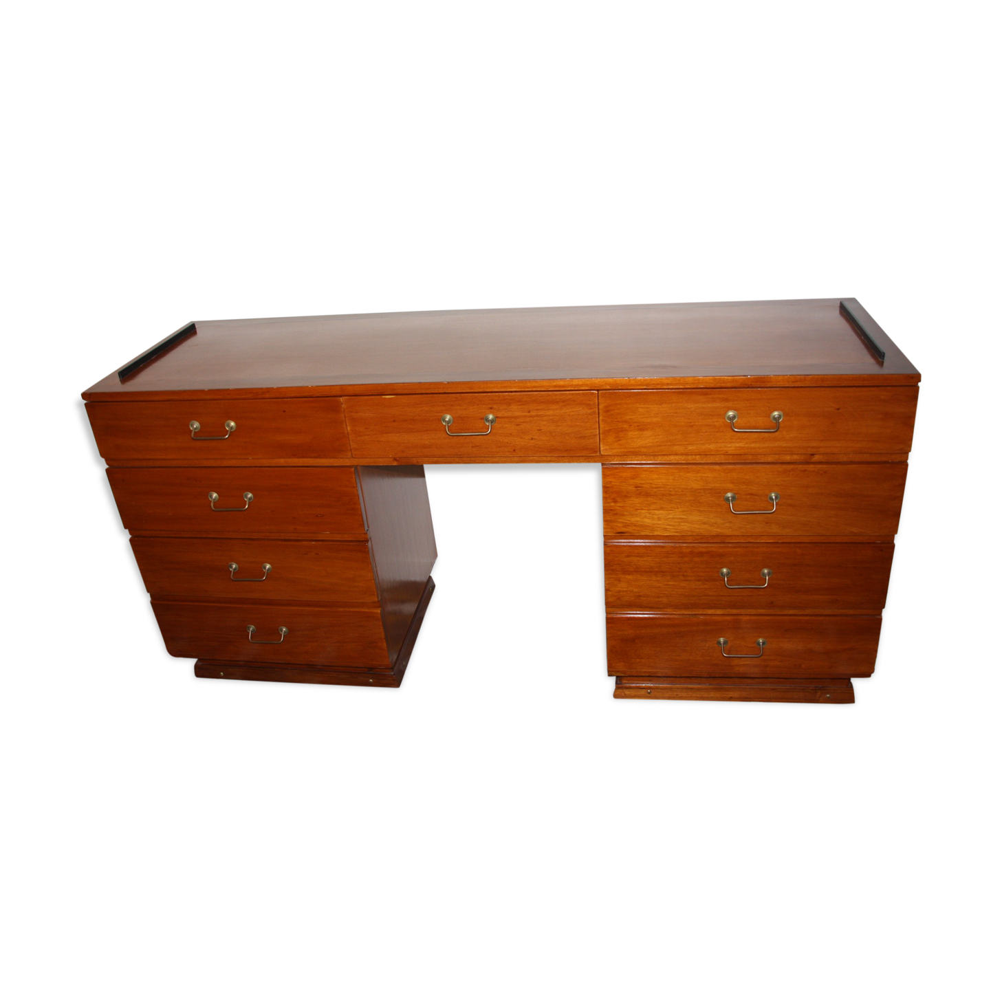 Meuble bureau de bateau anglais bois matériau bois couleur