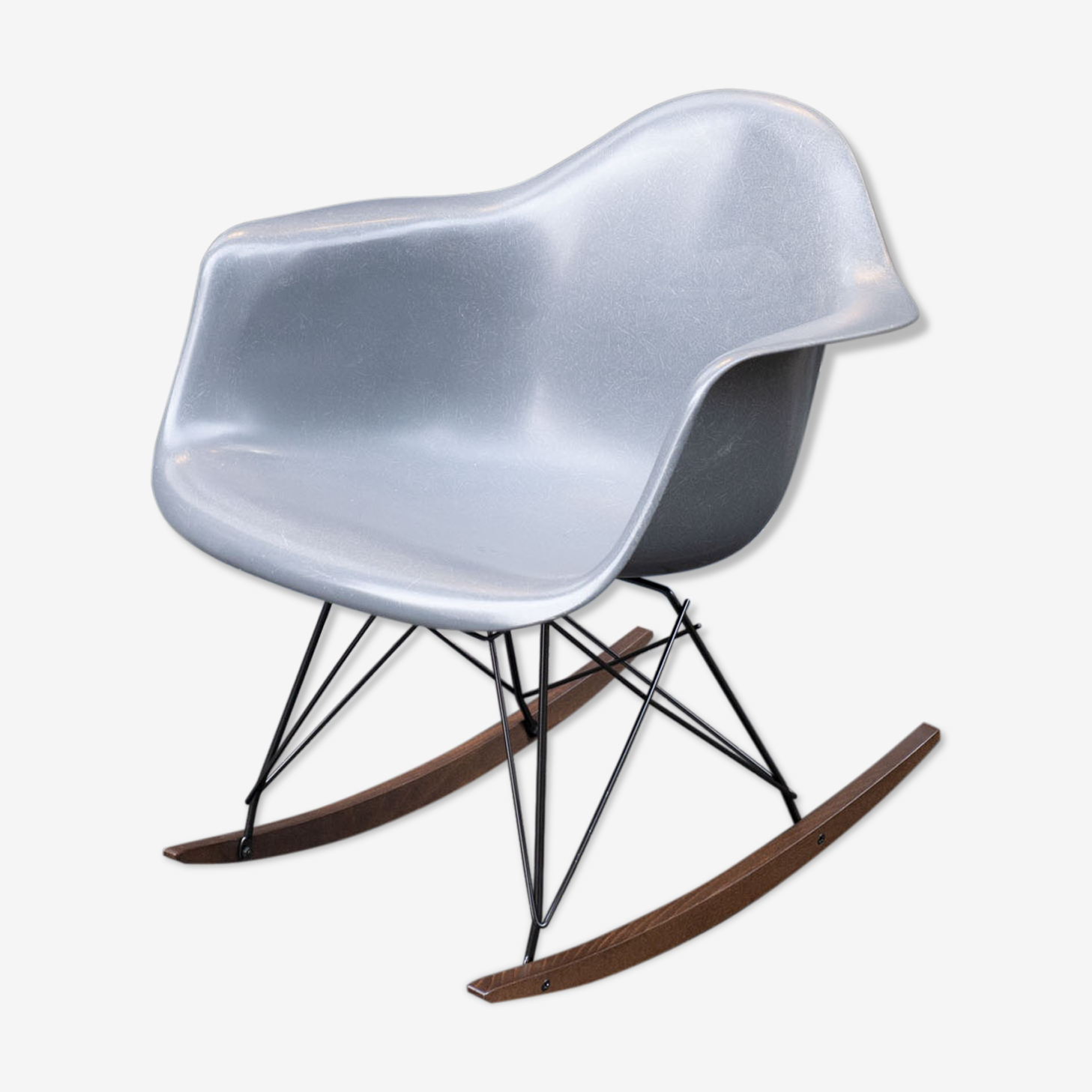 Rocking chair par Charles et Ray Eames édition Herman Miller