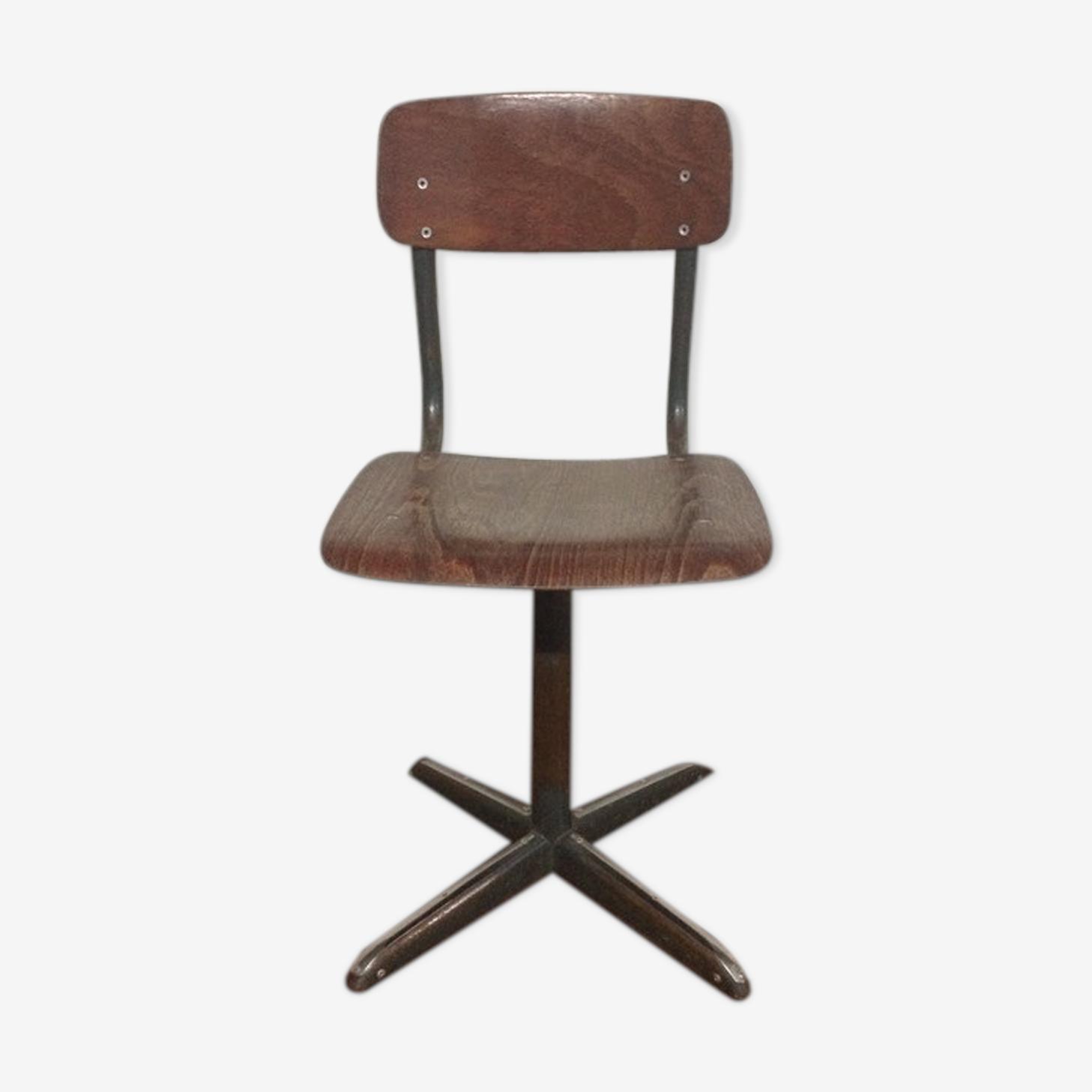 Chaise d'écolier vintage '60s / '70s