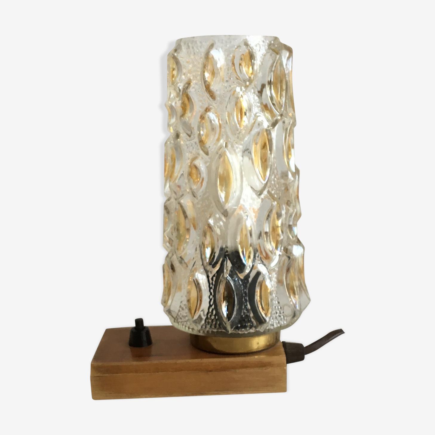 Vintage bedside lamp, 1960s