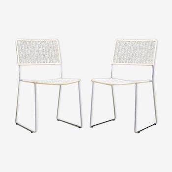 Paire de chaises 60/70