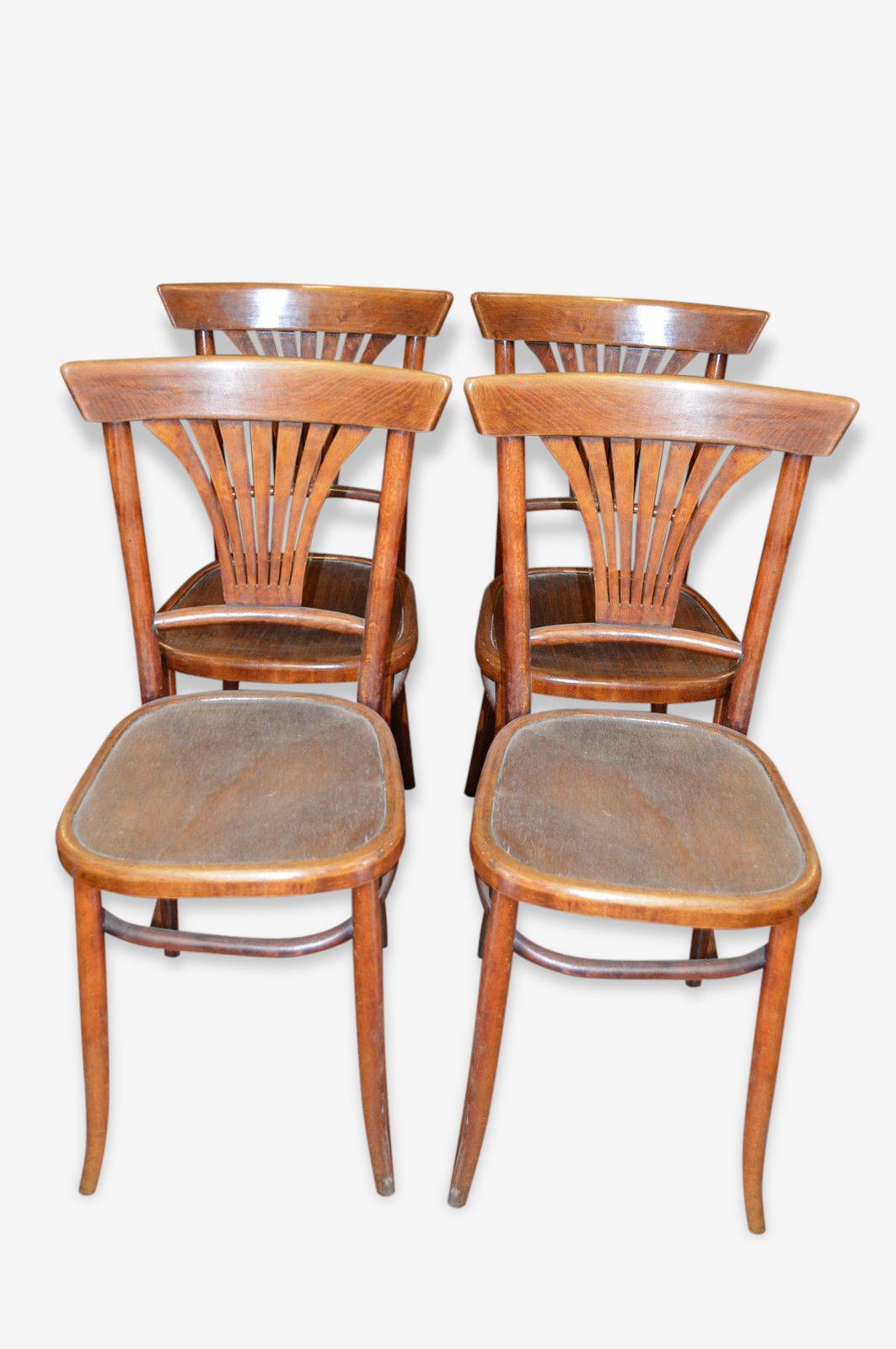 Chaises de bistrot x 4 de marque LUTERMA