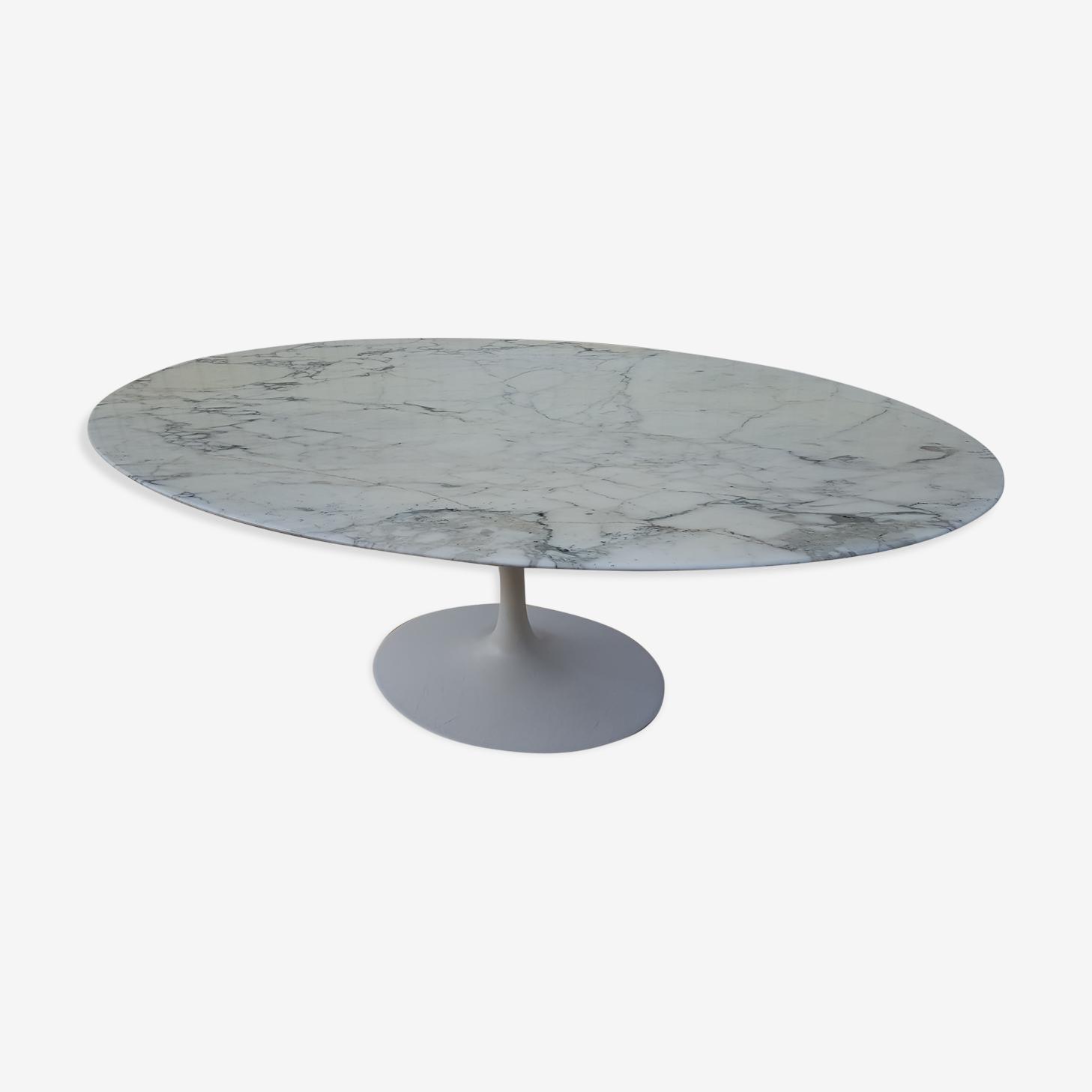 Eero Saarinen marble table for Knoll