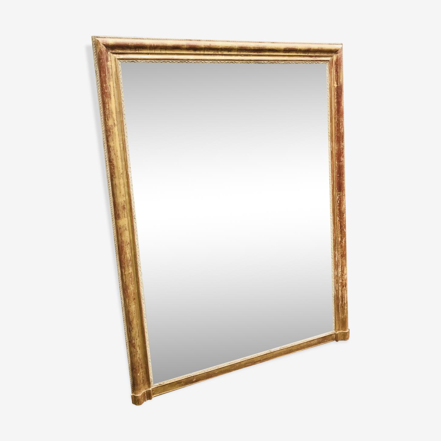 Ancien miroir doré Louis Philippe 171x128cm