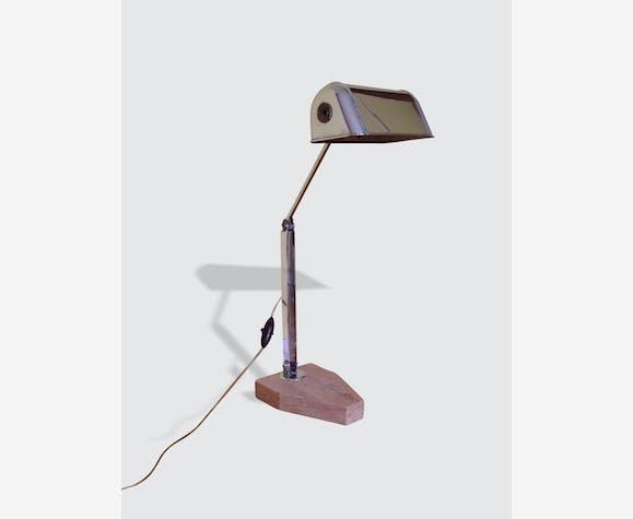 Lampe De Bureau Des Annees 30 Metal Design 282
