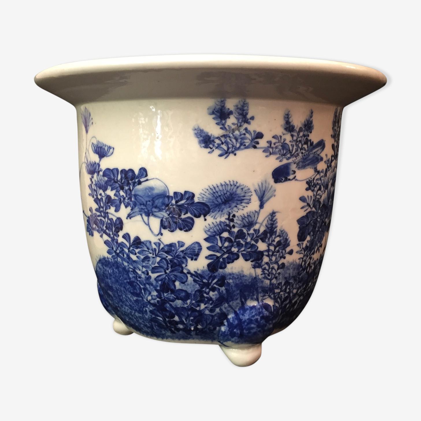Jardinière  en céramique chinoise, Chine, début XXe siècle
