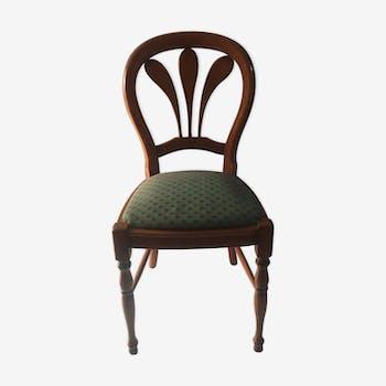 Chaise ancienne en merisier