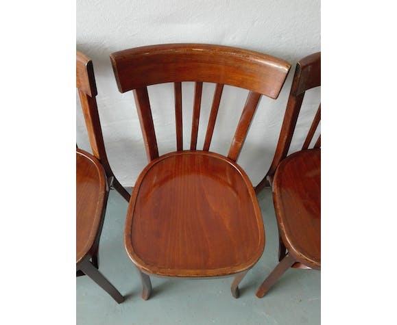 Suite of 4 baumann bistro chairs