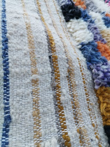 Berber new handmade wool rug 135 x 240 cm
