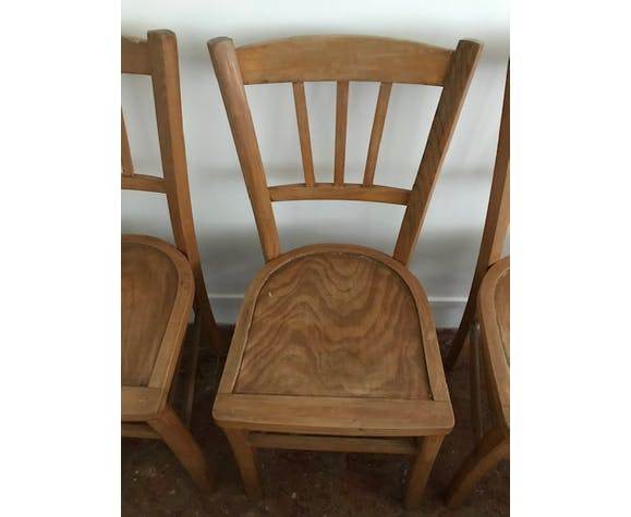 Lot de 3 chaises bistrot