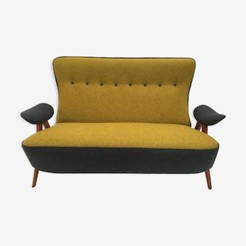 Canapé model 105 hair pin par Theo Ruth pour Artifort 1957