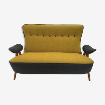 Sofa model 105 hair pin by Theo Ruth for Artifort 1957