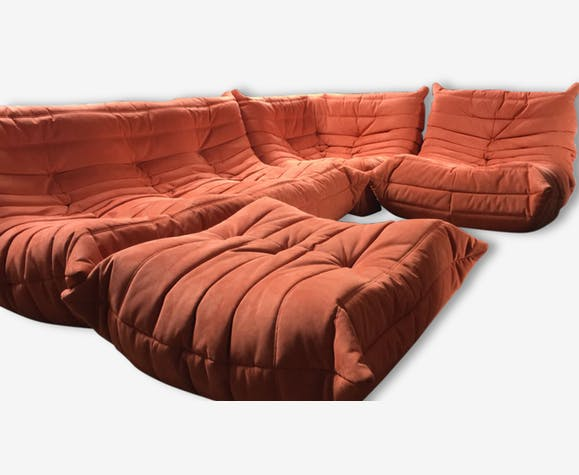 canape togo michel ducaroy ligne roset fabric. Black Bedroom Furniture Sets. Home Design Ideas