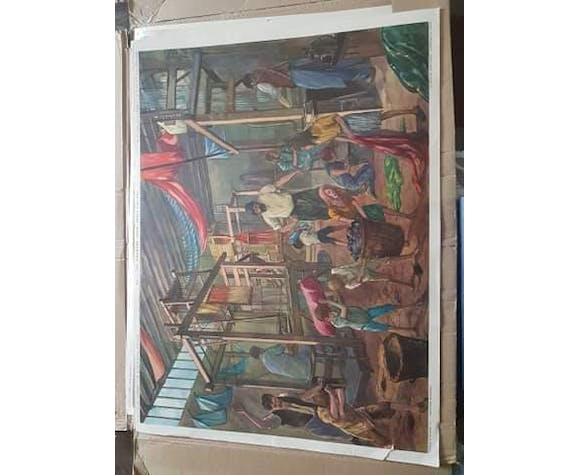 Tableau d'histoire CE2  collection rossignol Montmorillon (Vienne)