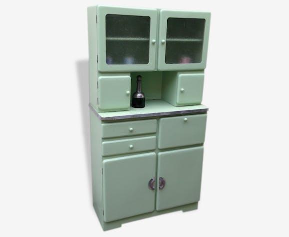 buffet cuisine ann es 60 bois mat riau vert scandinave 37357. Black Bedroom Furniture Sets. Home Design Ideas