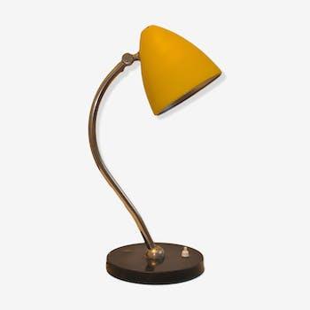 lampe d 39 architecte ledu poussin vintage des ann es 70 m tal jaune vintage yxiyslq. Black Bedroom Furniture Sets. Home Design Ideas