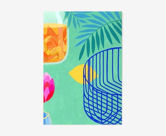 Illustration A5 citron - Riso