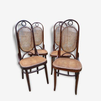 4 chairs Thonet number 17