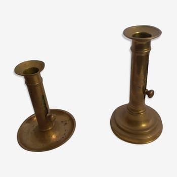 Brass bougeoir Louis Philippe