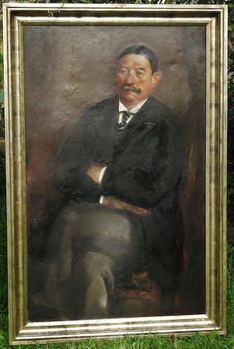 Portrait Léon de Vos 130 x 80