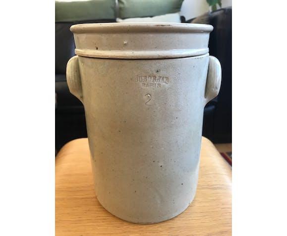 2L enamelled sandstone pot