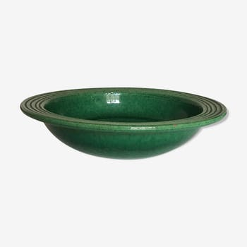 Dish glazed terracotta 50 Vallauris