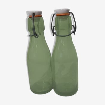 Lot de 2 bouteilles mécaniques bolach 250 ml 0.25 litres gros goulot