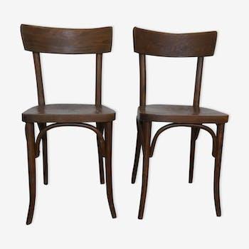 Set 2 chaises bitrot thonet