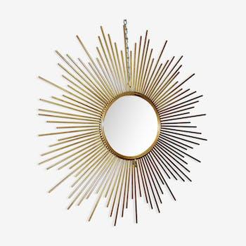 Miroirs vintage et anciens d 39 occasion for Miroir soleil oeil sorciere