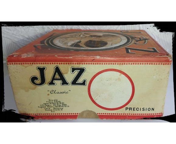 """Ancien réveil mécanique de marque Jaz """"Classic"""" Précision années 20/30"""