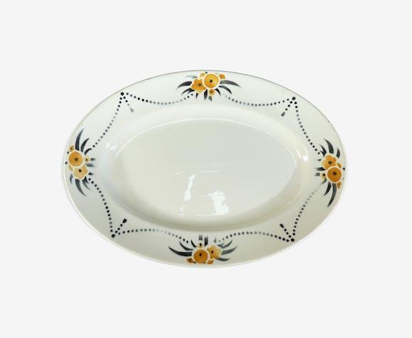 Plat ovale Badonviller modèle Royal