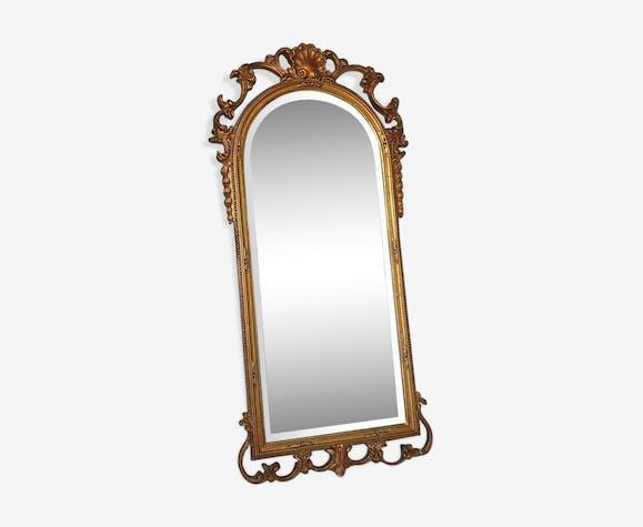 Vintage wall mirror 1950s 39x83cm