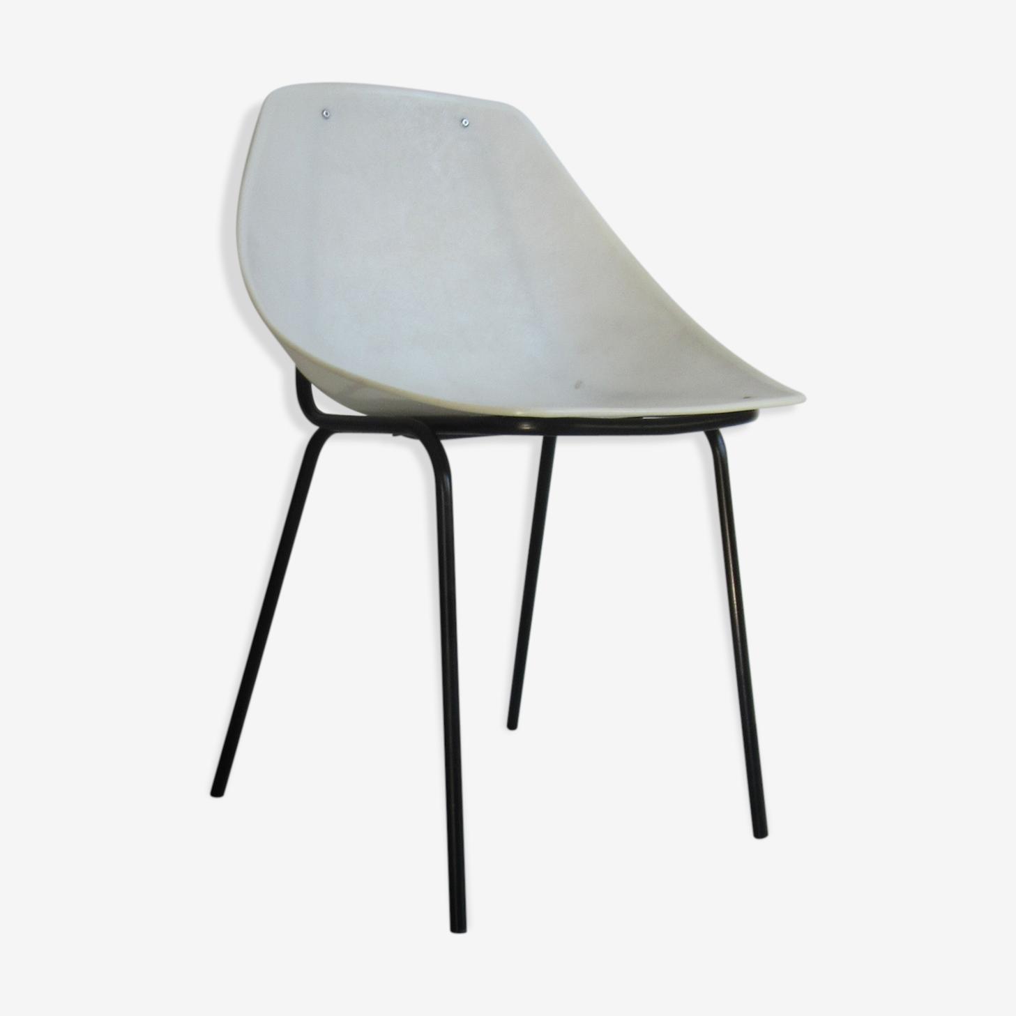 Chaise coquillage de Pierre Guariche pour Meurop, 1961