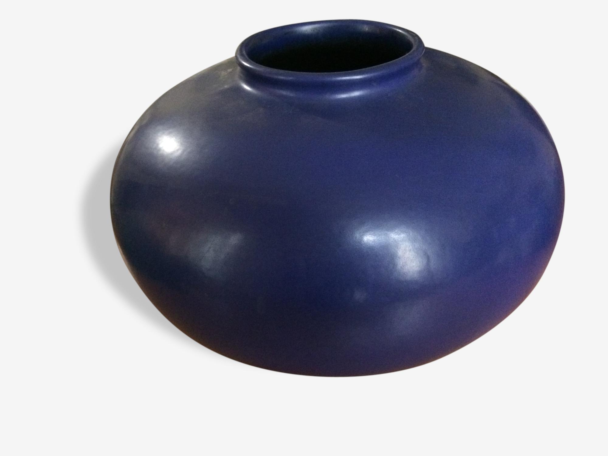 Grand vase rond