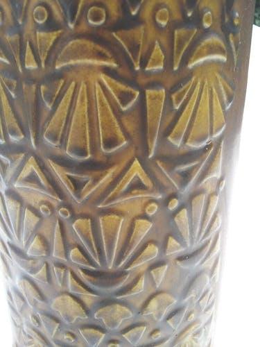 Saint Clement ceramic vase France