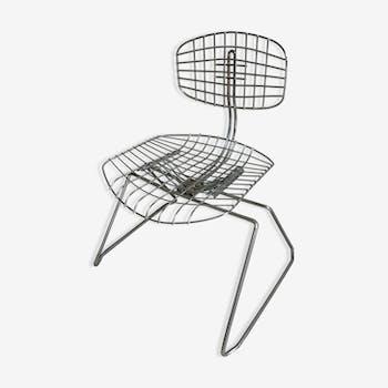 Chaise «Beaubourg» des années 70 du designer Michel Cadestin