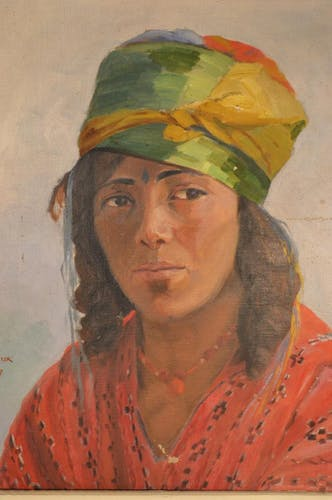 Portrait of a young Eastern