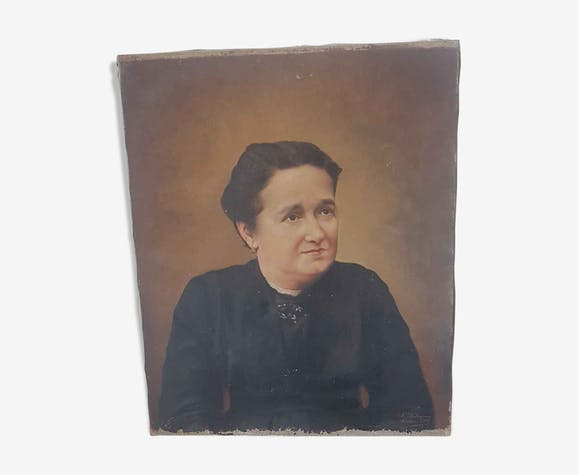 Tableau, huile sur toile de Jean Aubagnac 1854-1939