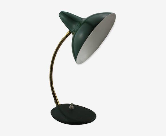 Lampe De Bureau Verte Annees 50 Metal Vert Vintage 8e0ymq8