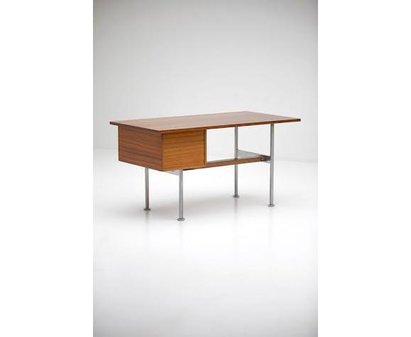 Bureau par Alfred Hendrickx, en bois de Zingana