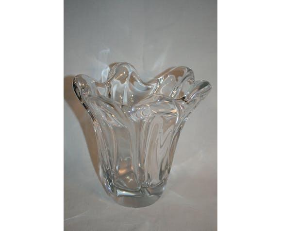 Vase cristal Daum France