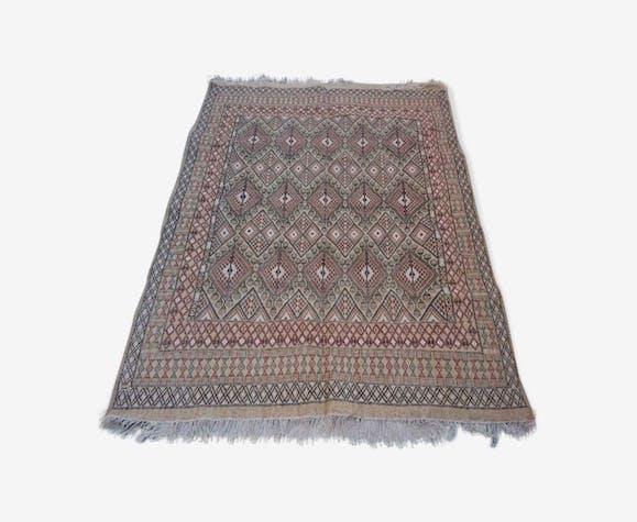 Tapis Kilim multicolore fait main en laine 220x300cm