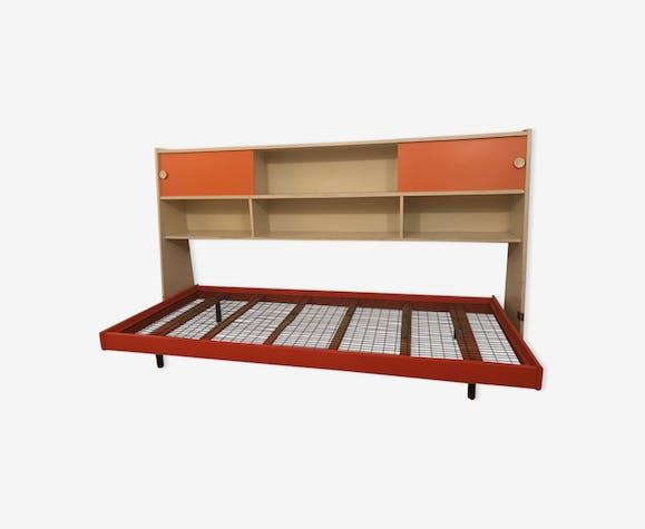 Chambre enfant vintage - bois (Matériau) - orange - vintage - WoflsVH