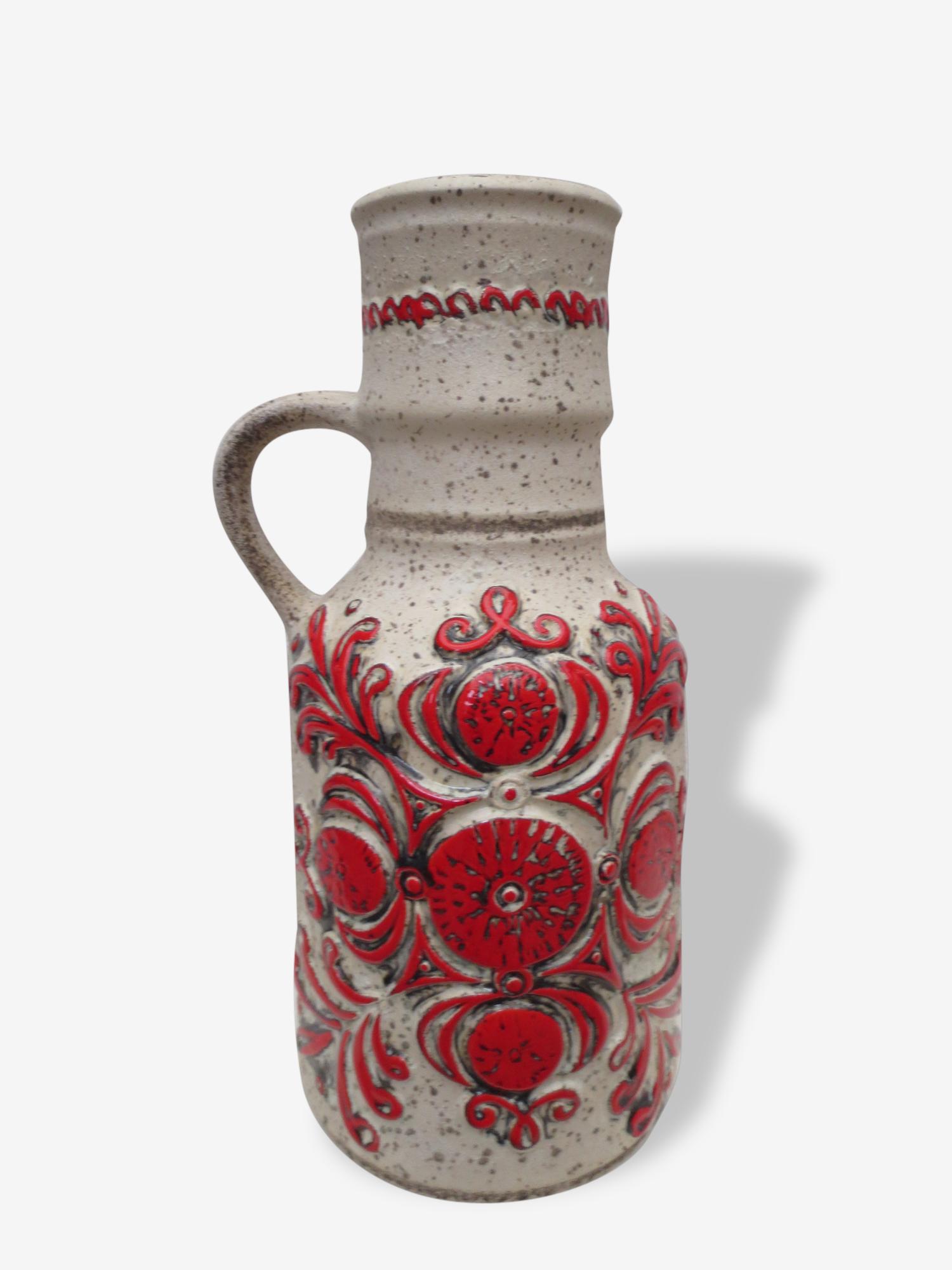 Vase en céramique des années 70