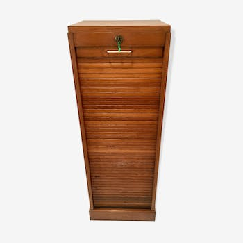 Mid-height filing cabinet with from the 40s-50s