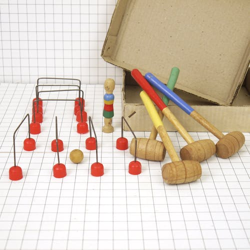 Table croquet game
