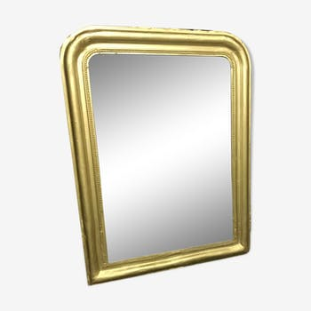 Old gold mirror Louis Philippe 75x100cm