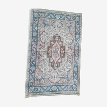 Ancient Persian carpet  82x52cm