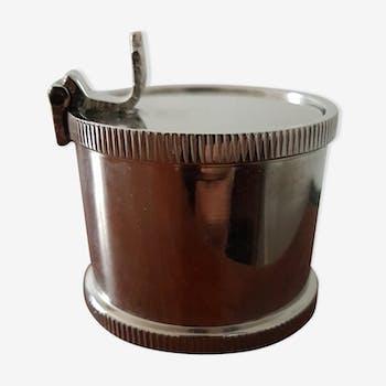 Cendrier bobine en métal