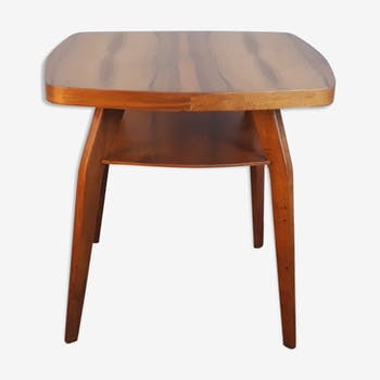 Table basse en noyer 1960s